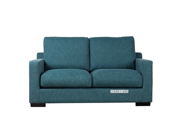 Picture of BLANDFORD LOVESEAT *Feather Filled BLUE