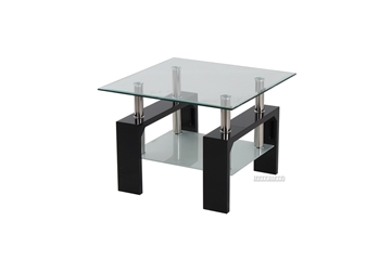 Picture of HORIZON Glass Side Table *Black