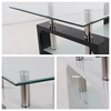 Picture of HORIZON Glass Console Table with High Gloss * Black