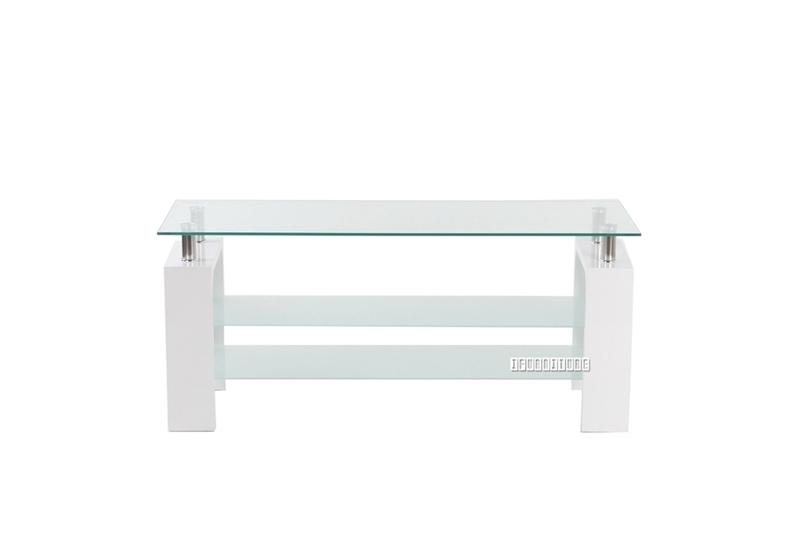 Picture of HORIZON Glass TV Unit *White
