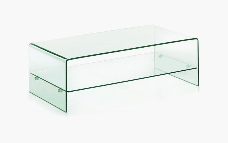 Glass Coffee Table With Shelf 11