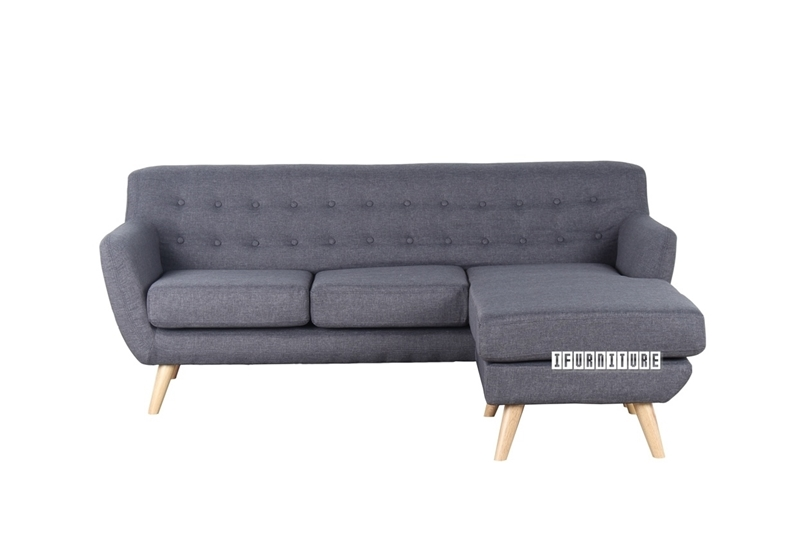 Picture of GAUTO Grey Reversible Sectional Sofa*Grey