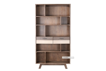 Picture of BOTSWANA Solid Acacia Display Cabinet