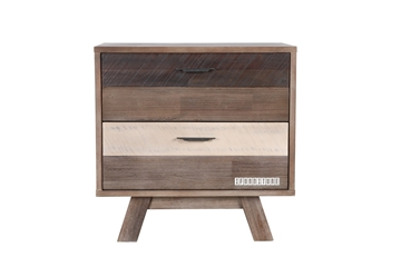 Picture of BOTSWANA Solid Acacia Bedside Table