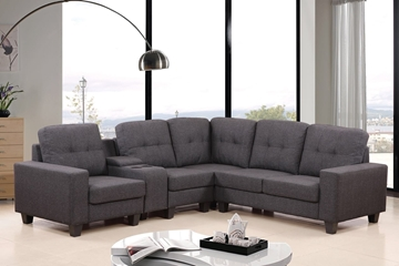 Picture of CLEAVON  Sectional Sofa *light grey