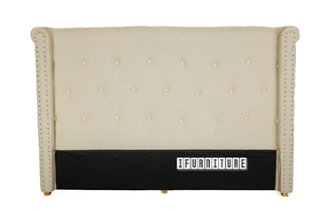 Picture of COPPER Upholstery Headboard Beige