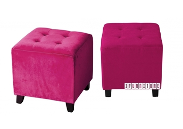 Picture of BEN Ottoman *Pink Velvet