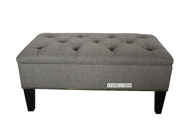 Picture of ISEULT Fabric Bench with Storage
