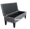 Picture of ZELLER Fabric Bench with Storage