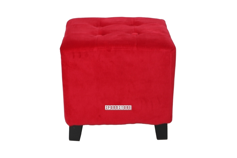 Picture of BEN fabric Ottoman *Red