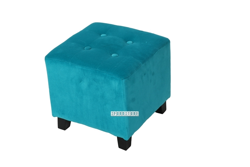 Picture of BEN Fabric Ottoman *Blue