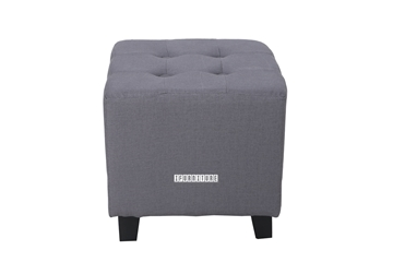 Picture of BEN Fabric Ottoman *Grey
