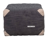 Picture of ELLINOR Fabric Ottoman *Light Grey /Dark Grey /Beige