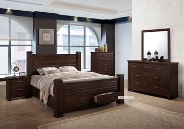 Picture of LIMERICK Bedroom Combo in Queen/king Size
