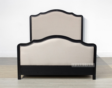 Picture of CAROLINE Bed in Queen *Black