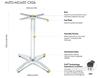 Picture of CX26 FLATTECH Auto Adjust Table Base