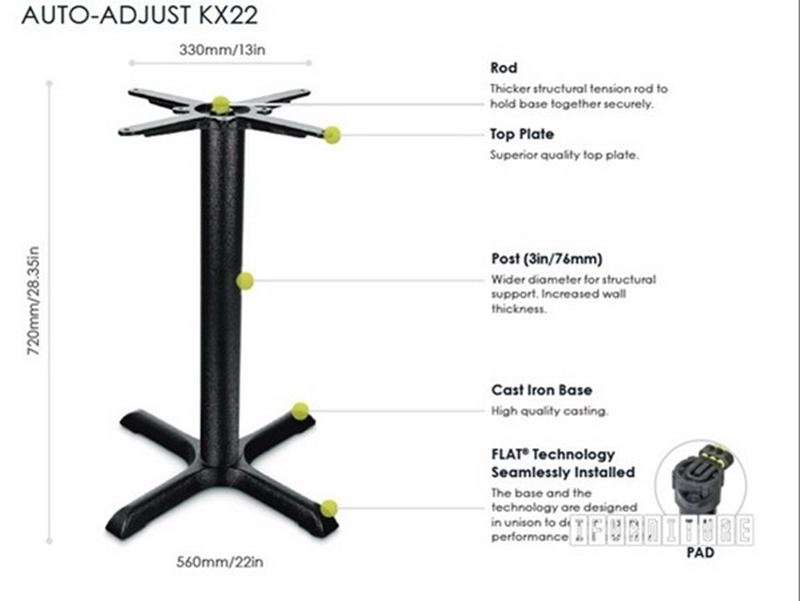 Picture of KX22 FLATTECH Auto Adjust Table Base