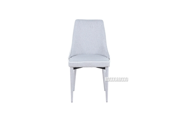 Picture of Moments Fabric Dining Chair *light/dark Grey