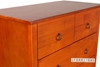 Picture of Metro Solid Pine 6 drawer Tallboy White