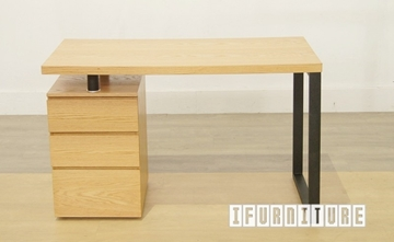 Picture of LONGITUDE OAK Veneer Desk