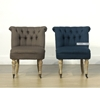 Picture of K24 Lounge Chair with Wheels *Solid Oak