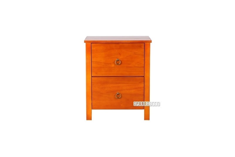 Picture of METRO Pine Bedside Table  Honey