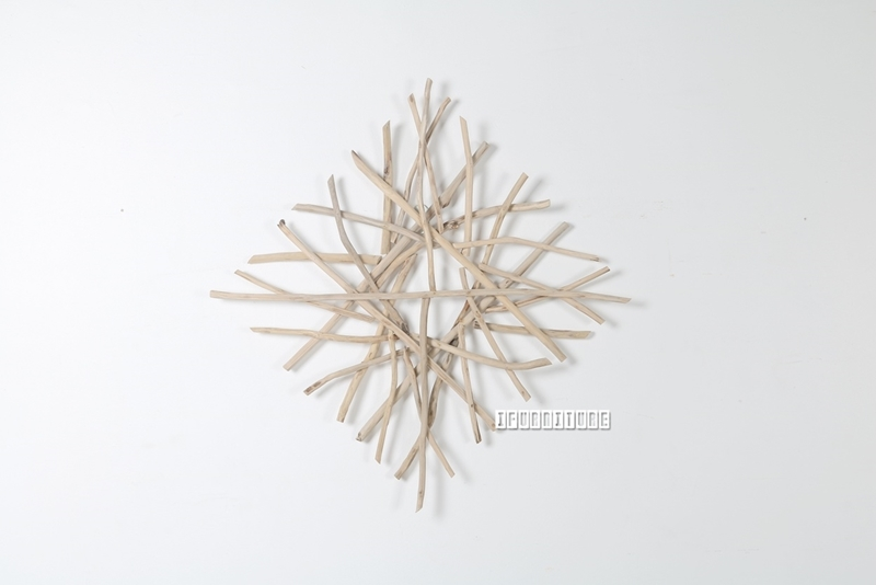 Picture of WILDBRANCH Square Wall Decor *Solid Teak