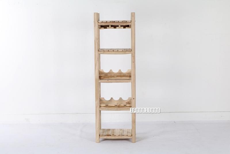 Picture of WILDBRANCH Wine Shelf *Solid Teak