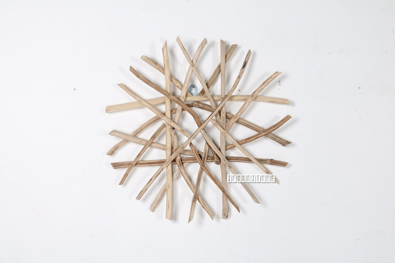 Picture of WILDBRANCH Round Wall Decor *Solid Teak