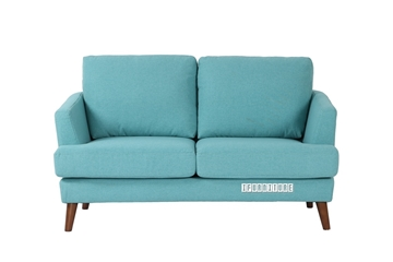 Picture of TEAL LOVESEAT  *LIGHT BLUE