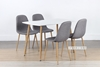 Picture of OSLO Dining Table *MATT WHITE