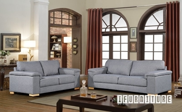 Picture of DALLAS 3+2 SOFA RANGE *Grey/BEIGE
