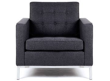 Picture of FLORENCE KNOLL ARMCHAIR Replica *CASHMERE