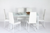 Picture of CANNES 7 PC dining Set  *White