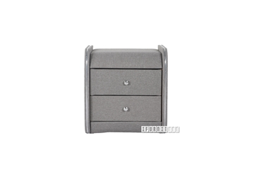 Picture of SHADOW Fabric nightstand *Grey