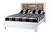 Picture of LIINA Solid Acacia King/Queen Size PLATFORM BED FRAME