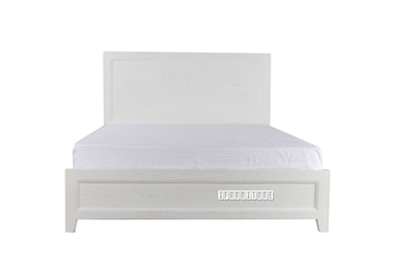 Picture of MEGAN SOLID WOOD KING Bed FRAME *WHITE