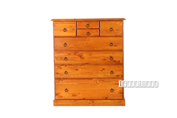 Picture of Samantha  SOLID PINE 8DRAWERS CHEST