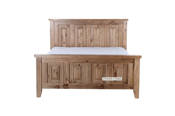 Picture of FRANCO Solid NZ Pine Bed IN QUEEN/KING