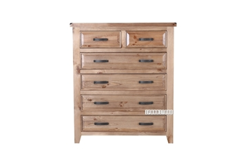 Picture of FRANCO Solid NZ Pine 6DRAWER Chest