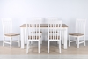 Picture of LIINA SOLID ACACIA 7PCS DINING SET