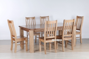 Picture of FRANCO SOLID NZ PINE 7PCS DINING SET