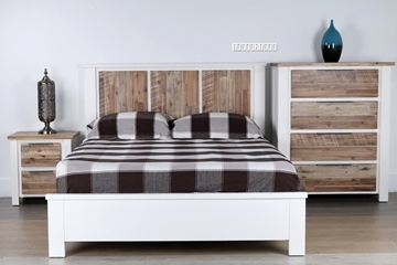 Picture of LIINA SOLID ACACIA 3PCS COMBO IN QUEEN/KING