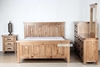 Picture of FRANCO Solid NZ Pine 4pcs combo in QUEEN/KING