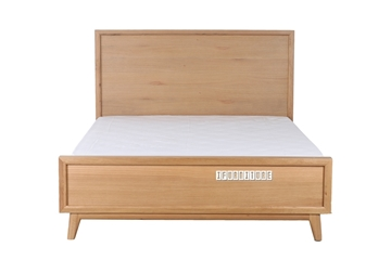 Picture of WAVERLEY NATURAL OAK BED IN QUEEN/KING