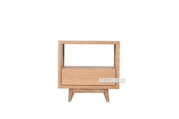 Picture of WAVERLEY NATURAL OAK SIDE TABLE