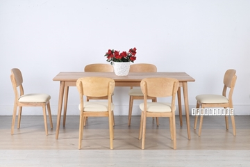 Picture of WAVERLEY NATURAL OAK 7PCS DINING SET