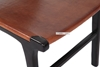 Picture of EUROPA Solid Teak Chair *Genuine Cowhide