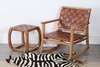 Picture of GYDAN Square Stool *Genuine Cowhide