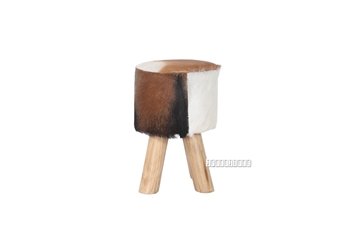 Picture of PREZTA Stool *Genuine Goathide